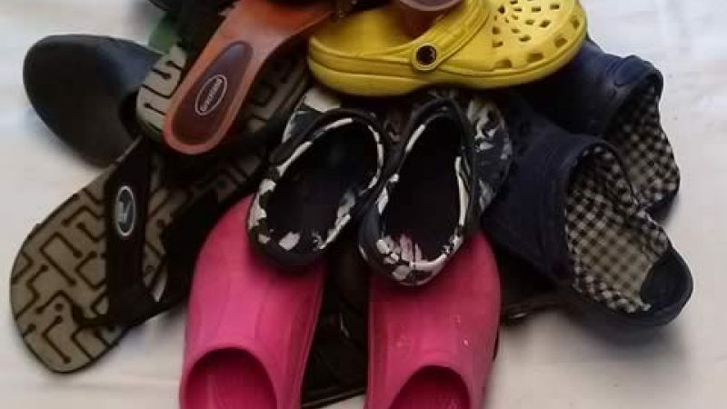 Second hand Shoes Flip Flop Africa